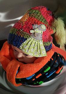 Detské čiapky - Detská čiapočka - myška - 7558575_