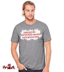 cd6303c208a Pánske tričko 21. Varianty. Oblečenie - Odmeny - 7559308