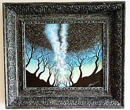 Obrazy - Magické Hviezdy - Obraz Svietiaci v tme - 7561265_
