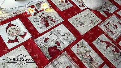 Úžitkový textil - Santa ... obrus - 7564289_