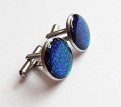 Šperky - Manžetové  gombíky Chameleon z chirurgické oceli - 7560711_