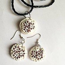Sady šperkov - sada biela - 7562688_