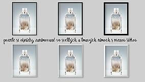 """Grafika - parfém """"ZIMA """" - 7562414_"""