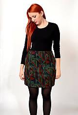 Sukne - Vzorovaná sukňa - 7560765_