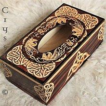 Krabičky - Krabica na servítky