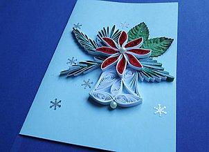 Papiernictvo - Vianočný zvonček - 7564363_