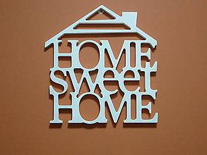 Dekorácie - Dekorácia Šťastný domov - 7560660_