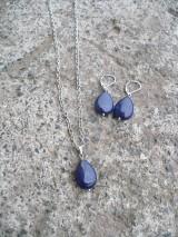 - súprava z Lapis Lazuli - chirurgická oceľ - 7564119_