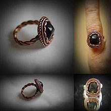 Prstene - medený starec - 7567633_