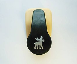 Pomôcky/Nástroje - Dierovačka na hrubší papier, moosgummi - 16 mm - sob, vianoce - 7564941_