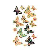 - Samolepky na dekorovanie - motýľ - 7565601_