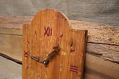 Hodiny - Drevené hodiny č. 26 - 7566851_