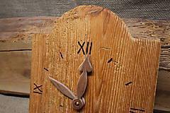 Hodiny - Drevené hodiny č. 30 - 7567043_