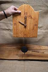 Hodiny - Drevené hodiny č. 32 - 7567122_
