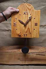 Hodiny - Drevené hodiny č. 33 - 7567144_