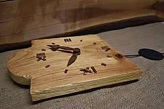 Hodiny - Drevené hodiny č. 33 - 7567270_
