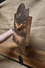 Hodiny - Bronzové hodiny č. 37 - 7567459_