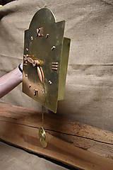 Hodiny - Mosadzné hodiny č. 38 - 7567484_