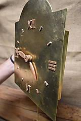 Hodiny - Mosadzné hodiny č. 38 - 7567490_