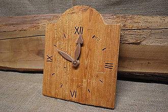 Hodiny - Drevené hodiny č. 30 - 7567042_