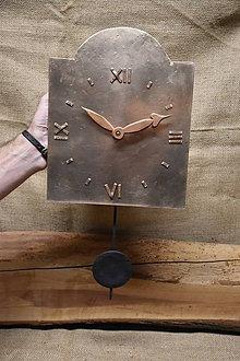 Hodiny - Bronzové hodiny č. 37 - 7567458_
