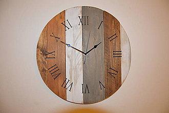 Hodiny - Drevené hodiny In - 7569222_