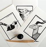 Kresby - Kolekcia obrázkov v rámčeku - 7566175_