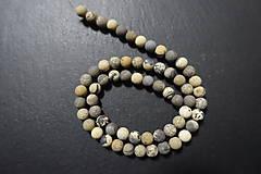 Minerály - Riečny kameň farbený matný 6mm - 7569129_