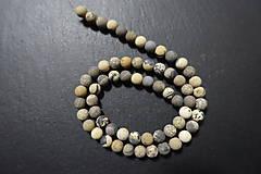 Minerály - Riečny kameň farbený matný 6mm - 7569130_