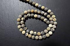Minerály - Riečny kameň farbený matný 6mm - 7569131_