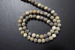 Minerály - Riečny kameň farbený matný 6mm - 7569132_