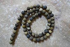 Minerály - Riečny kameň farbený matný 6mm - 7569135_