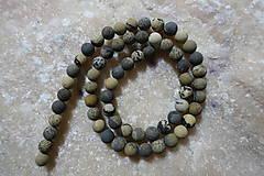 Minerály - Riečny kameň farbený matný 6mm - 7569136_
