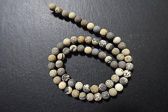 Minerály - Riečny kameň farbený matný 6mm - 7569128_