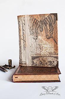 "Papiernictvo - "" Vintage"" Diary / na zákazku :) - 7568143_"