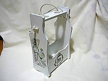 Krabičky - Držiak na dve fľaše Home - 7569505_