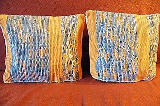 Úžitkový textil - Súprava tkaných obliečok na vankúše - 7565071_