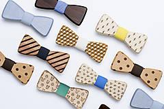 Detské doplnky - ORIGINÁL – Detský drevený motýlik Little Nuptis - 7569602_