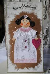 Papiernictvo - Vianočná pohľadnica... - 7569827_
