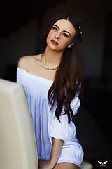 - Merlot obručový náhrdelník - 7573392_