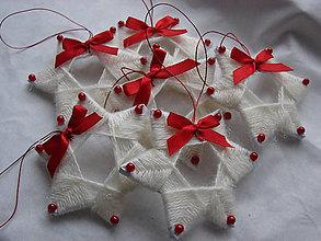Dekorácie - vianočné hviezdičky - 7572457_