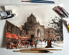 Obrazy - V Taliansku - 7573092_