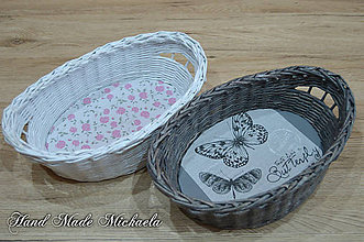 Košíky - košíček na pečivo alebo drobnosti - 7572977_