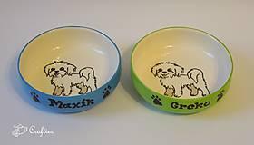 - Misky pre psíkov - maltezákov - 7571164_