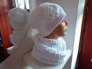 Čiapky - biely set LADA - 7575820_