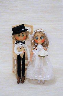 Bábiky - Ženích a nevestička - 7577021_