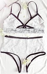 Bielizeň/Plavky - Čipkované nohavičky Indicus - 7576288_