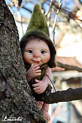 Bábiky - ♥ Malý Elfík LESKO ♥ - 7577612_