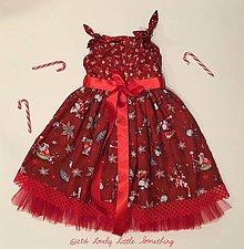 Detské oblečenie - Vianočné šatičky - 7577193_