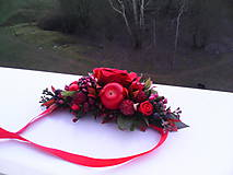 "Náhrdelníky - Kvetinový náhrdelník ""chuť lesného ovocia"" - 7576327_"